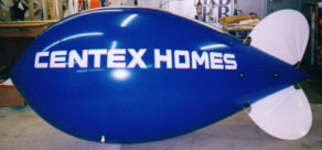 Advertising Blimp - 11ft. Centex Homes logo